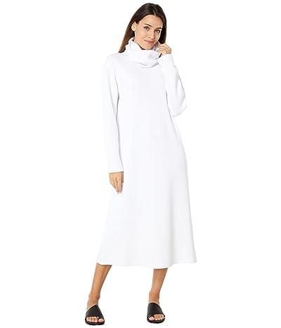 KAMALIKULTURE by Norma Kamali Boyfriend Oversized Turtleneck Dress To Midcalf