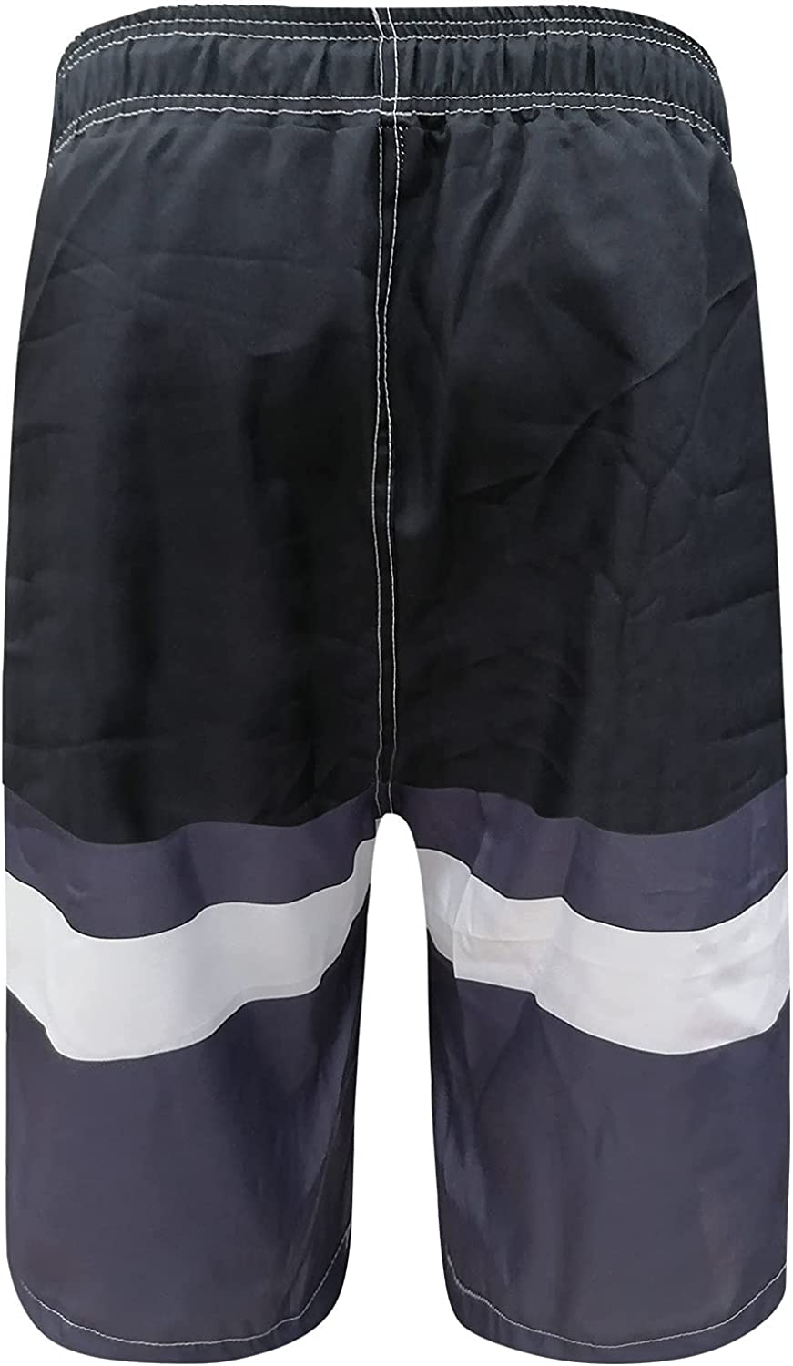 Huangse Men's Swim Trunks Quick Dry Beach Shorts with Mesh Lining Swimwear Bathing Suits with Mesh Lining