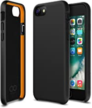 iPhone 8 Case, iPhone 7 Case, Maxboost [SnapPro Series] Apple iPhone 8/7/6s/6 Cover with GXD Impact Gel Cushion [Matte Black] Premium Shock-Absorption Protection Frame Enhanced Soft Touch Coating