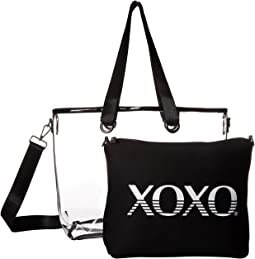 Clear Tote w/ Logo Clutch