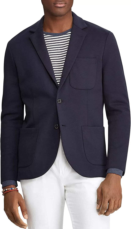 Polo Ralph Lauren Men's Ponte Knit Classic Fit Blazer Navy Size XXL