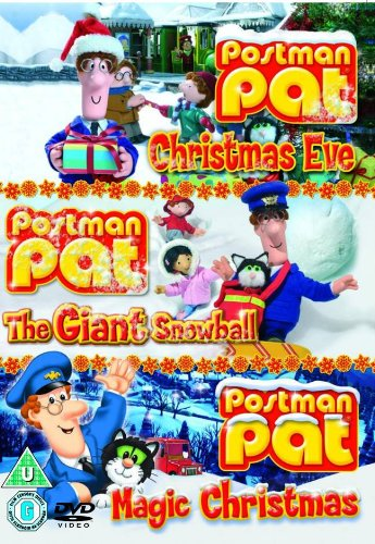 Postman Pat: Christmas Eve/The Giant Snowball/Magic Christmas [3 DVDs] [UK Import]