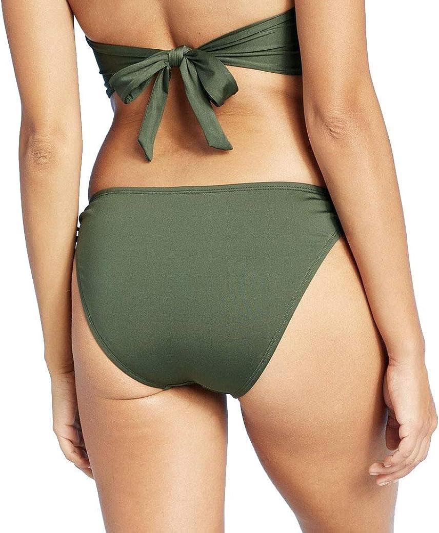 Kona Sol Women's Keyhole Medium Coverage Hipster Bikini Bottom