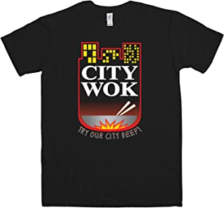 Mens T Shirt - City Wok - 8Ball Originals Tees
