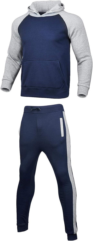 Mens 2PCS Tracksuit Set Camouflage S Sweatshirt Challenge the lowest price of Japan ☆ Overseas parallel import regular item Jogger Patchwork
