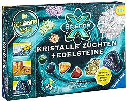Ravensburger 18883 – ScienceX: Kristalle züchten u. Edelsteine