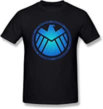 YvonArt Toomii Men's S.H.I.E.L.D Blue Logo Tshirts