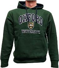 Oxford University Unisex Sudaderas con Capucha Oficial con Licencia Producto Regalo de Recuerdo Bordado Men Women Hombres Mujer Hoodie Sweatshirt (L, Botella Verde)