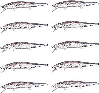 FREE FISHER 30pcs/25Pcs/20Pcs Unpainted Fishing Lure Blank Jerkbaits Diving Crankbaits Wobblers DIY Fishing Tackle Kit