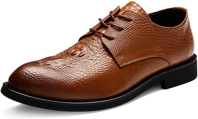 Men's Fashion Men's Leather shoes Business Dress Men's shoes Leather shoes with Round Head Casual shoes Work Boots,shoes