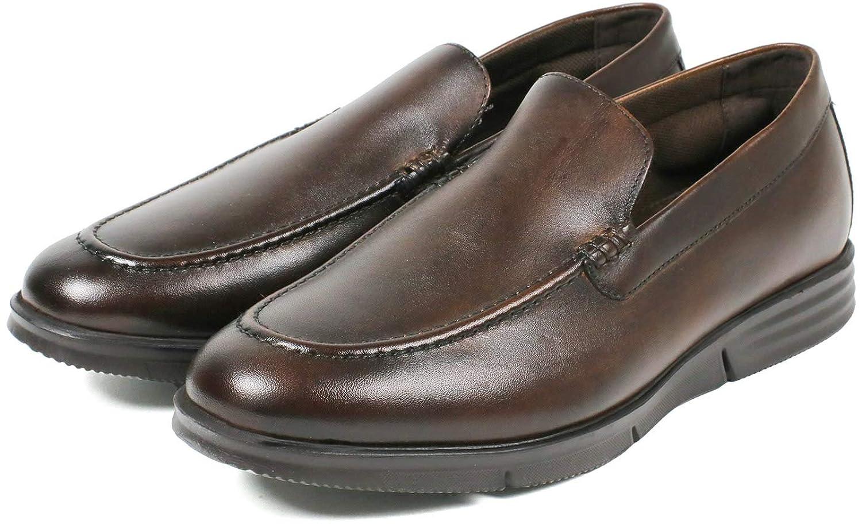 [セレブル] ウォーカーズメイト WALKERS-MATE 走れる レザー ビジネスシューズ メンズ 本革 スリッポン 紳士靴 幅広 3e 軽量 防滑 衝撃吸収 屈曲性 歩きやすい
