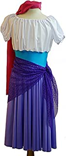 Stage-Panto-Roma Girl-The Hunchback of Notre Dame Esmeralda Gypsy Girl Child's Fancy Dress Costume - All Ages