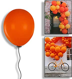 Aimto Orange Balloons Party Big Balloons,18 Inch–Pack of 25