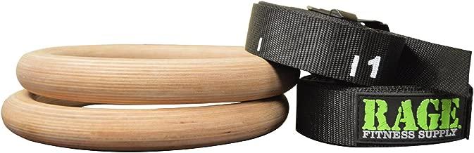 Rage - Performance Wood Ring Set