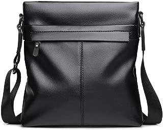Men's Soft PU Shoulder Bag Crossbody Messenger Bag