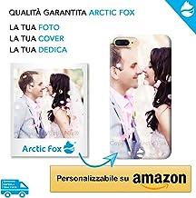 Arctic Fox Calamita Magnete Frigo Personalizzato in plastica Rettangolare con la Tua Foto o Dedica Personalizzabile su