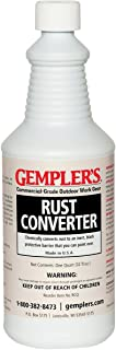 GEMPLER'S Eco-Friendly RCQ Rust Converter and Primer All-in-One – Ultimate One-Step Solution to Convert Rusted Iron and Steel Surfaces and Prevent Further Rusting - 1 Quart
