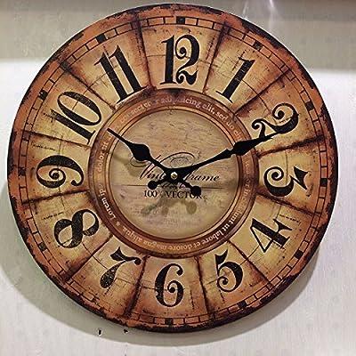 KAWEAZ MDF Simple Wall Clock Saat Relogio De Parede Duvar Saati Creative Wooden Clock Watches Living
