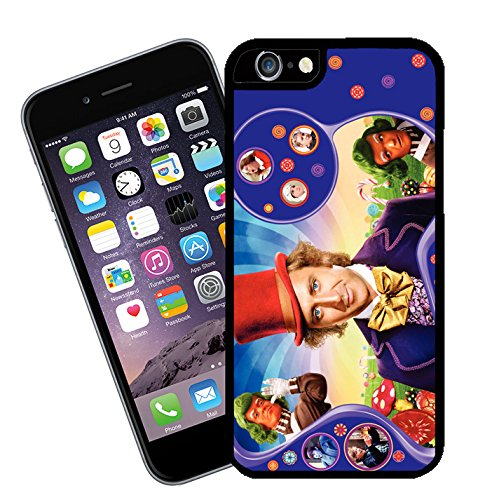 Eclipse Gift Ideas Willy Wonka, Movie Phone Case - This Cover Will Fit Apple Model iPhone 6 - By