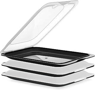 Tatay Ensemble de 3 Boîtes a Charcuterie Fresh, Sans BPA, Réutilisable, Empilable, Passe au Lave-vaisselle et au Micro-ond...