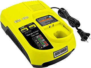 VANON P117 Dual Chemistry IntelliPort Fast Battery Charger for Ryobi 12V-18V One+ Plus NiCd NiMh Lithium Battery P100 P101 P102 P103 P105 P107 P108 P200 1400670