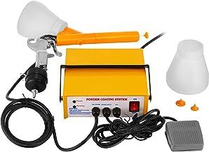 BananaB PC03-5 poedercoating verfpoedercoatingapparaat poederpistool 3,3 W 0,03 A poedercoating gun poederpoeder set gele ...