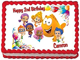 Cakes for Cures Bubble Guppies Edible Cake Image Birthday Cake Image Cake Topper Decoration