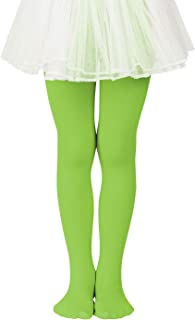 Girls Stretchy Dance Tights Comfort Colorful Leggings...