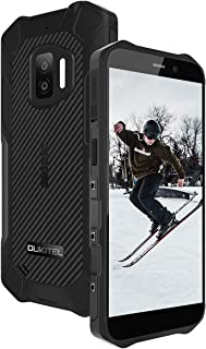 OUKITEL WP12 SIMフリー スマホ 本体 防水防塵耐衝撃 Android 11 スマートフォン 4000mAhバッテリアウトドア スマートフォン IP68防水 5.5インチ画面、デュアルSIM、NFC 、4GB RAM + 32GB...