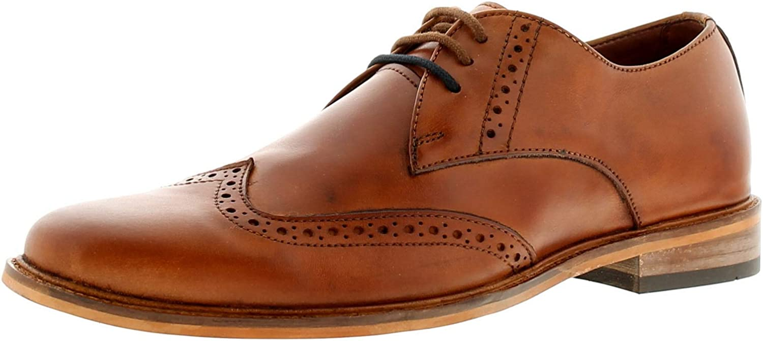 Lambretta Franky Mens Other Leather Material Formal shoes Tan