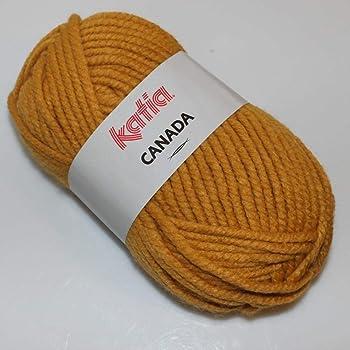 Lanas Katia Canada Ovillo de Color Arena Cod. 102: Amazon.es: Hogar