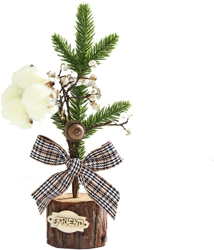 Rong Spring new work Desktop Small Christmas Tree Artificial Mini Our shop most popular