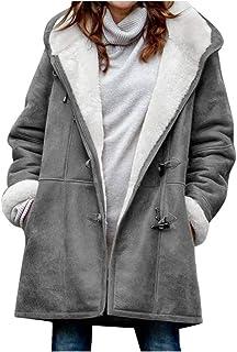 comprar comparacion PAOLIAN Abrigo de Mujer Invierno Largo Acolchado Tallas Grandes Chaquetas de Mujer con Capucha Trenka Parka Lana Sintética...