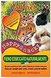 All-Pet Happy snacky fieno essicato naturalmente per Roditori Kg. 1