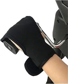 抗痙縮指スプリント、リハビリテーション援助グローブ快適な通気性のフィンガーグリップスプリントストローク片麻痺トレーニング機器リハビリテーション自転車 指の矯正