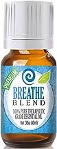 Breathe Essential Oil Blend - 100% Pure Therapeutic Grade Breathe Blend Oil - 10ml
