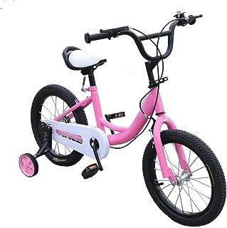 Vélo pour enfant 16 pouces garçon fille avec roue auxiliaire