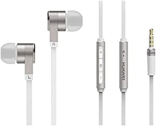 Huawei 22040267 In Ear Bass Kopfhörer mit Mikrofon AM13 weiß