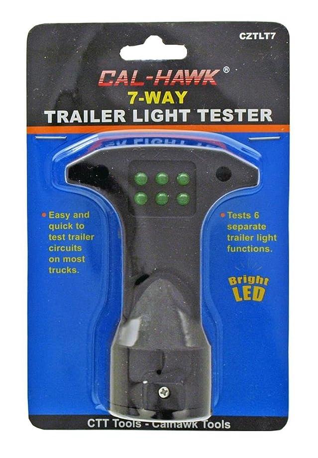 Cal Hawk Tools CZTLT7 Trailer Light Tester