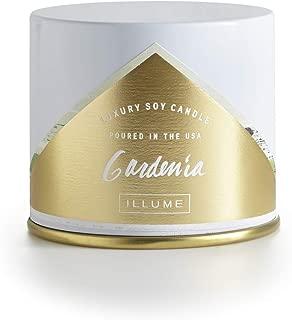 Illume Gardenia Large Vanity Tin, 11.8 oz Candle, White