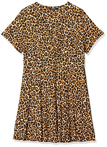 SIMPLY BE Vrouwen Jurk Ladies Animal Print Jersey Skater Dress
