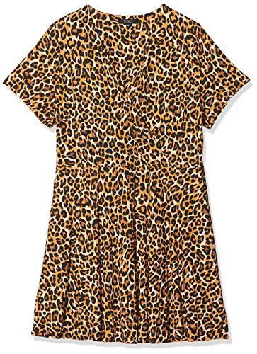SIMPLY BE Vrouwen Jurk Ladies Animal Print Jersey Skater Dress