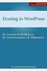 Einstieg in WordPress 4.2 Kindle Ausgabe