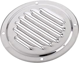 "2Pcs 3/"" 76mm 316 Marine Grade Stainless Steel Grill Airflow Vent 81932SS-HP"