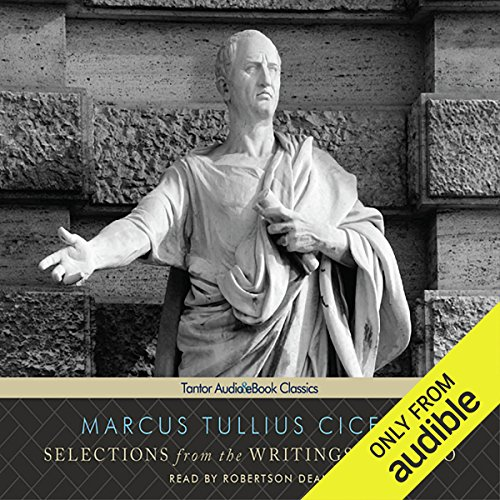 Selections from the Writings of Cicero audiobook cover art