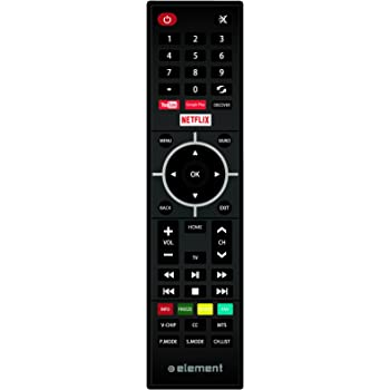 Amazon Com Element Electronics Remote For Element S Smart Tv Model Home Audio Theater