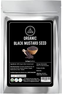 Naturevibe Botanicals Black Mustard Seed, 5lbs (80 ounces)