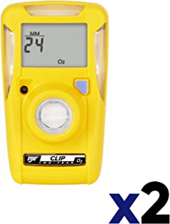 BW Technologies BWC2-H BW Clip Single Gas H2S Monitor (2 Units)
