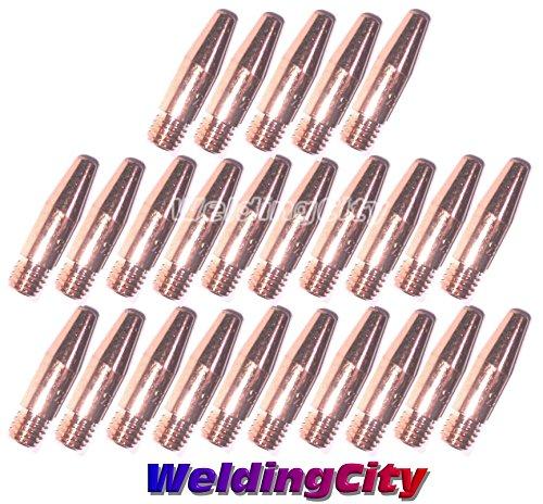 WeldingCity 25-pk MIG Welding Tapered Contact Tip 11T-30 (0.030