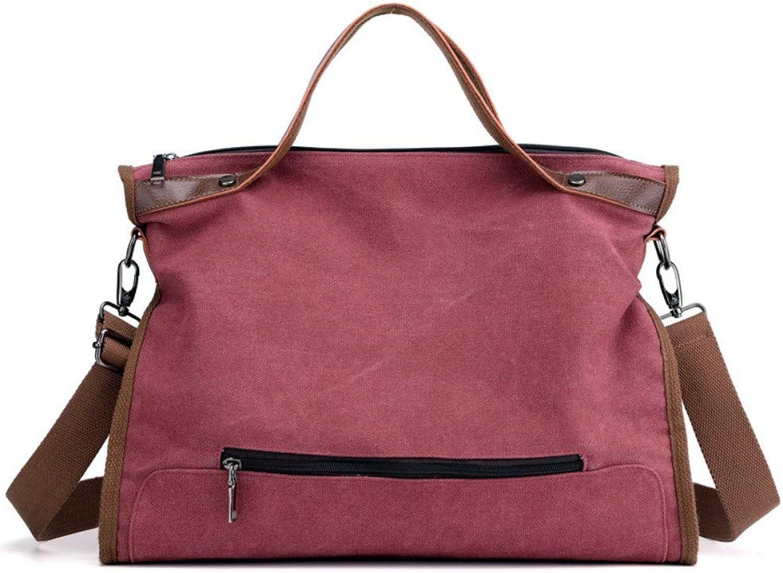 db148e8dbdf9 Bag,Women Retro Canvas Messenger Bag Fashion Large Capacity Commuter ...